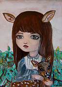 R Barba - Deer girl