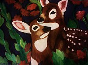 Christy Brammer - Deer on a Spring Night
