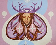 Carolyn Cable - Deer Woman