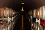 Wine Country Prints - Deerfield Ranch Winery 5D22218 Print by Wingsdomain Art and Photography