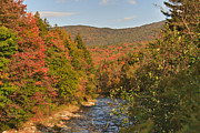 Deerfield River Metal Prints - Deerfield River Afternoon Metal Print by Charles Kozierok