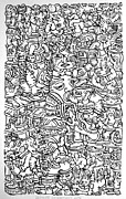 21st Drawings Prints - Definite entrapment Print by Eric  Weets
