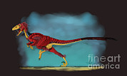 Deinonychus Prints - Deinonychus, A Genus Of Carnivorous Print by Stocktrek Images