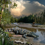 Julius Csotonyi - Deinosuchus