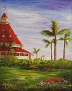 Coronado Art - Del by the garden by Maic Palmieri