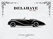 Car Metal Prints - Delahaye 1938 Metal Print by Mark Rogan