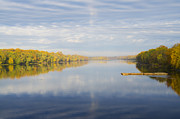 Delaware River Prints - Delaware River at Morrisville - Trenton Print by Bill Cannon