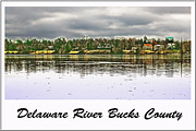 Dunk Photo Framed Prints - Delaware River Bucks County Framed Print by Gallery Three