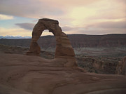Southern Utah Digital Art Posters - Delicate Arch Poster by Taylor Visual Arts