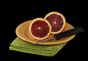 Delicious Juicy Blood Oranges Print by Inspired Nature Photography By Shelley Myke