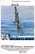 Burt Reynolds Framed Prints - Deliverance Framed Print by Movie Poster Prints