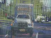 Delivery Truck Framed Prints - Delivery Framed Print by Donald Maier