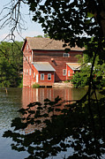 Grist Millpond Photo Prints - Dells Millpond No.3 Print by Janice Adomeit
