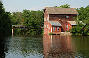 Grist Millpond Photo Prints - Dells Millpond No.4 Print by Janice Adomeit