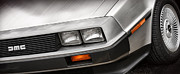 Delorean Posters - DeLorean DMC-12 Poster by Gordon Dean II
