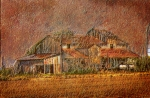 Farming Digital Art - Delta Cotton Barn by Barry Jones