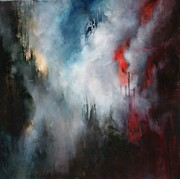 Wildfire Paintings - Delusions of  Granduer by Lissa Bockrath