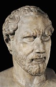 Political Figures Posters - Demosthenes. Ca.  230bc. Roman Copy Poster by Everett