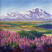 Karen Mattson - Denali and Fireweed...