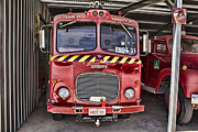 Dennis Posters - Dennis Fire Truck Poster by Douglas Barnard