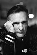 Dennis Hopper Framed Prints - Dennis Hopper 1 Framed Print by Rolf Adlercreutz