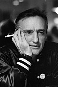 Dennis Hopper Framed Prints - Dennis Hopper 2 Framed Print by Rolf Adlercreutz
