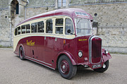 East Dennis Metal Prints - Dennis Lancet vintage bus Metal Print by Steev Stamford