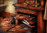 Furniture Art - Dentist - Lab - Dental Laboratory  by Mike Savad