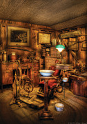 Steampunk Art - Dentist - The Dentist Office by Mike Savad