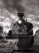 Steam Train Prints Art - Denver and Rio Grande Western 483 Under Steam by Ken Smith