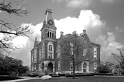Universities Photo Prints - DePauw University East College Print by University Icons