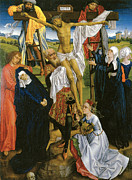Religious Jesus On Cross Posters - Deposition Poster by Master of the Legend of St Catherine