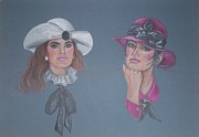 Kentucky Pastels - Derby Day by Stephanie Rausch