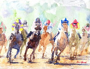 Kentucky Derby Painting Originals - Derby by Max Good