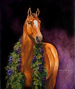 Bird Prints Paintings - Derby Zin by Carole Powell
