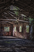 Decayed Framed Prints - Derelict Building Framed Print by Christopher Elwell and Amanda Haselock