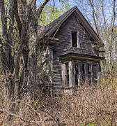 Haunted House Photo Prints - Derelict House Print by Marty Saccone