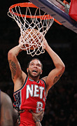 Dunk Photo Metal Prints - Deron Williams Poster Metal Print by Sanely Great