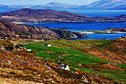Landscape Prints Framed Prints - Derrynane Harbour Framed Print by Aidan Moran