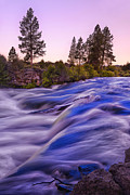 Deschutes Prints - Deschutes river Print by Christian Heeb