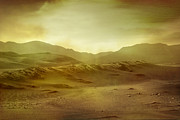 Landscape Digital Art - Desert by Brett Pfister