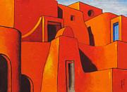 Desert Castle-1 Print by Ashutosh Parkhe