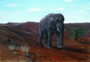 Tom Blodgett Jr - Desert Elephant