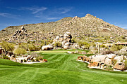 Scottsdale Photos - Desert Golf by Scott Pellegrin