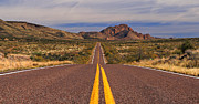 Daniel Woodrum - Desert highway near...