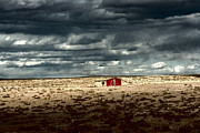 Barn Storm Prints - Desert Landscape Print by Julie Lueders