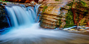 Waterfalls Photos - Desert Oasis by Chad Dutson