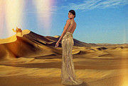 Hairstyle Digital Art - Desert Queen - Painting by Best Fashion Photo