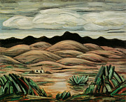 Hartley Posters - Desert Scene Poster by Marsden Hartley