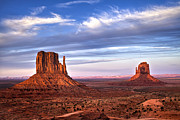 Monument Valley Photos - Desert Shadows by Andrew Soundarajan